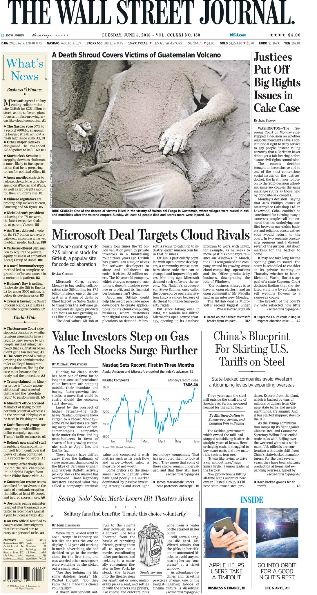 Take an early look at the front page of The Wall Street Journal https://t.co/5xQPDPcm8q https://t.co/JyQ3gOLl1M