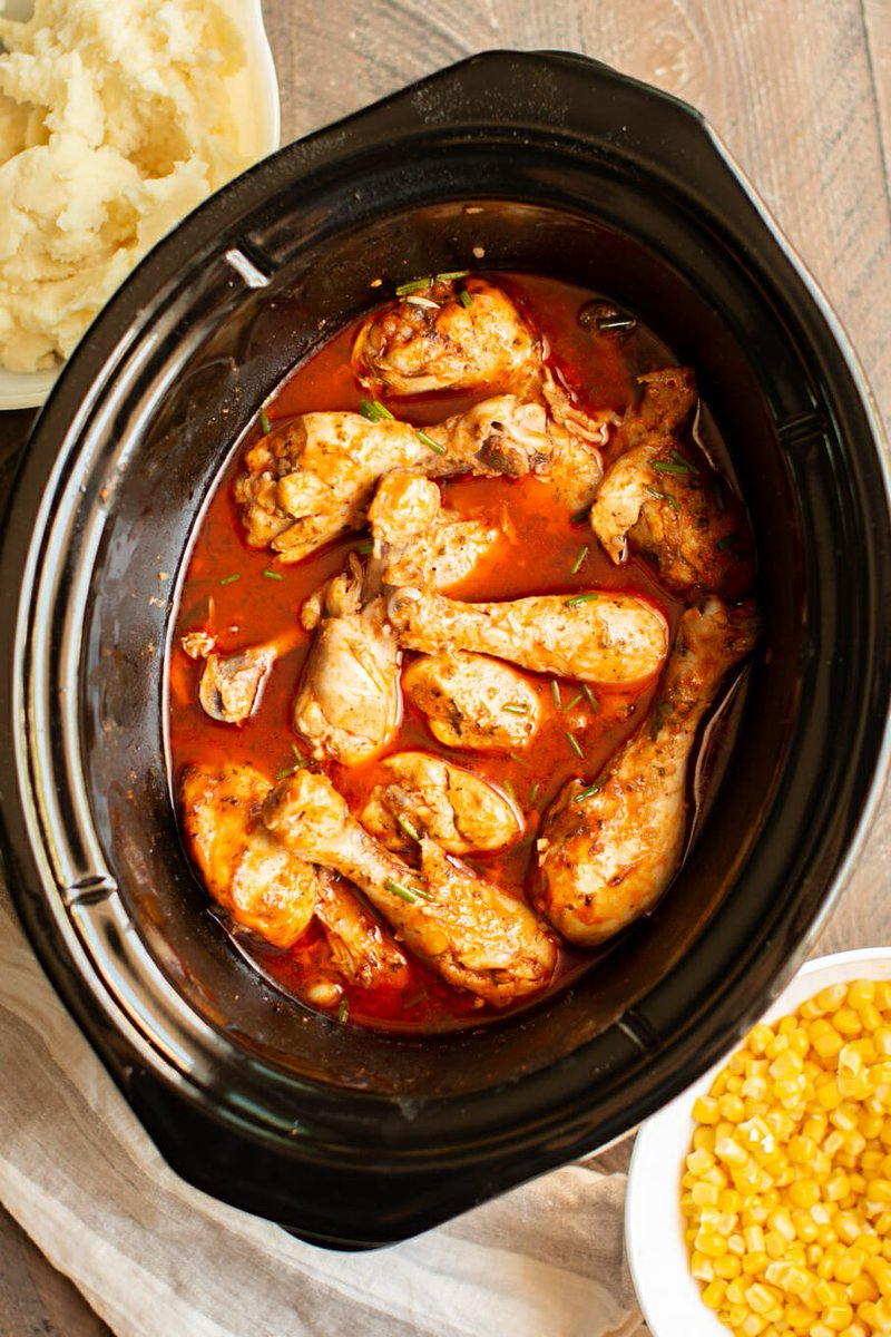 New post (Slow Cooker Buffalo Ranch Drumsticks) has been published on Cook Recipe Land - https://t.co/UBbHmLz3s9 https://t.co/fon41ahZEL