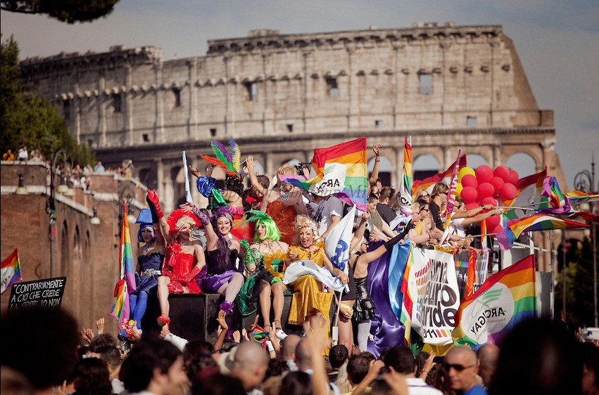 Thousands participate in gay pride parades across europe