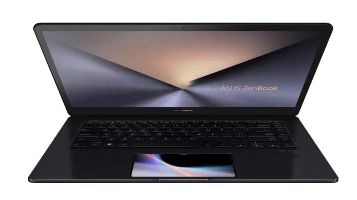 タッチパッドがディスプレイになった、Asus「ZenBook Pro」がお披露目 #PC #ニュース #Windows #テクノロジー #プロダクト https://t.co/leGOEj6TGq