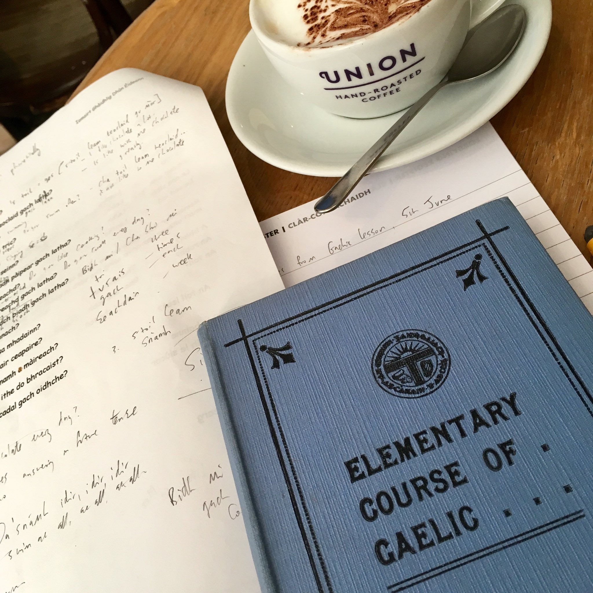 Ashley Douglas On Twitter Scrievin Up Ma Gaelic Notes Efter A In First Cl At Stgileshighkirk This Morn S Toil Leam Cofaidh Agus Gáidhlig