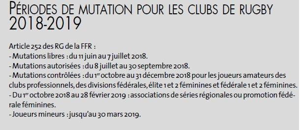 saison 2018-2019 : arrivée départs De698LHXcAA2BJp