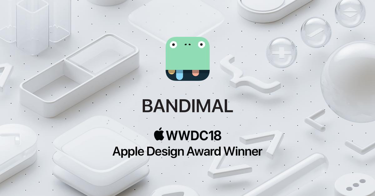 Still can't believe this! BADNIMAL GOT AN APPLE DESIGN AWARD AT WWDC !!!! whoooooohoooo https://t.co/dnYamU3SpD