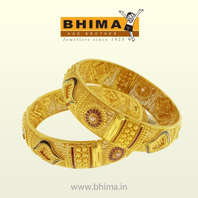 Bhima Jewellery On Twitter An Elaborate Round Shaped Metal