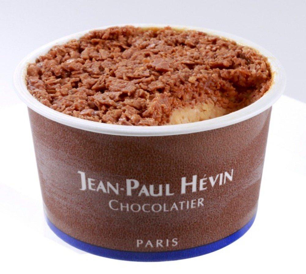 ジャン=ポール・エヴァン夏の新作、サクサクのチョコレートフィヤンティーヌをトッピングした濃厚アイス -