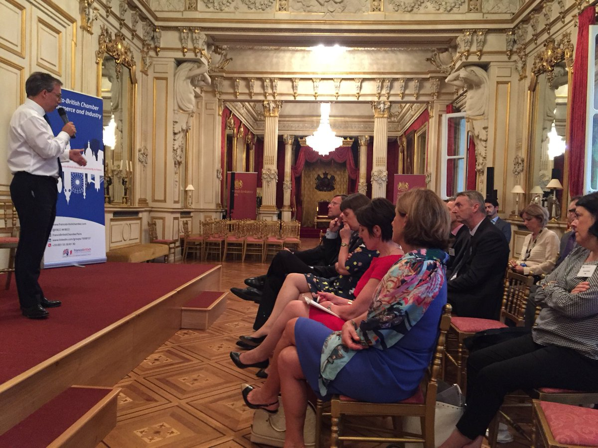 Today @fbcci at #ambassadorbreakfastbriefing we are delighted to welcome our delegation from Brittany and @BertrandGervais of @CCI_35 #francobritishtraderelations #francobritishchamber @UKinFrance  @EdLlewellynFCO<br>http://pic.twitter.com/p5GpVB42sd
