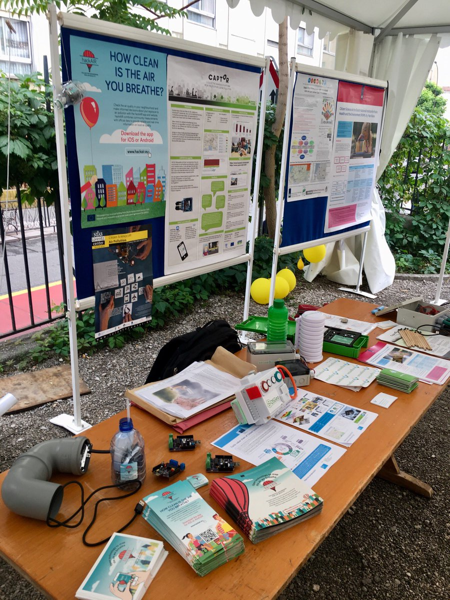 test Twitter Media - Our maker stand at #ECSA2018 is growing. We got more devices for #airquality measurement! Come and see us today! @captor_air @hack_air @innovatearth https://t.co/TNFfn5pRdC