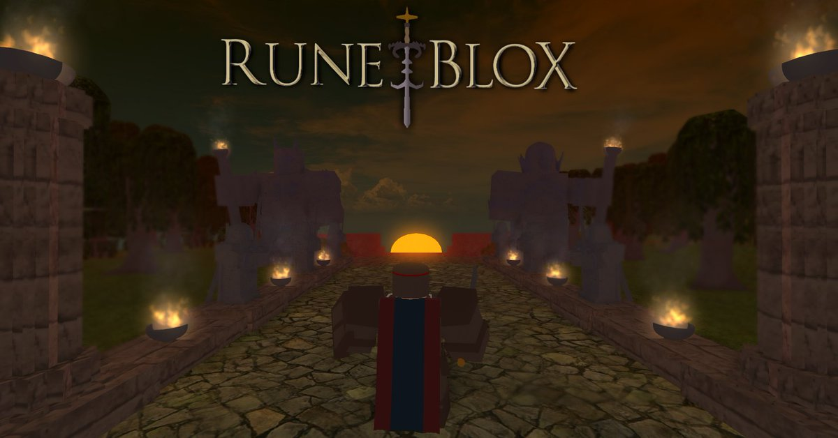 Runeblox Development On Twitter We Took Inspiration From The Old