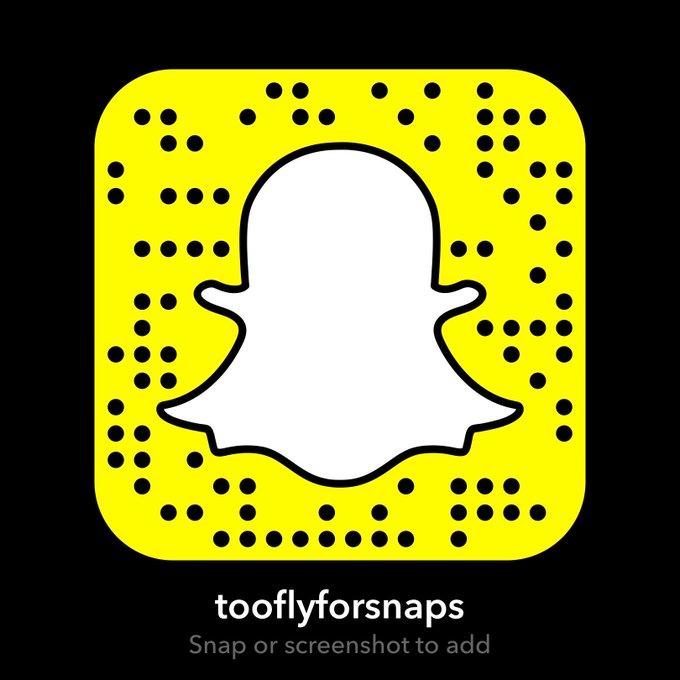 #Snapchat - tooflyforsnaps https://t.co/lIJreqC9Qu