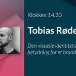 Image for the Tweet beginning: Mød grafisk designer, Tobias Røder,