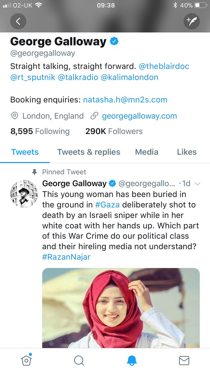 George Galloway On Twitter Greetings To My 290000 Followers On