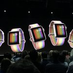 #WatchOS5 by Sep'18 (for AppleWatch Gen2 & above) Workouts App: Automatic workout detection Cadence: Indoor/Outdoor runs Pace Alarm Walkie-Talkie feature to talk to AppleWatch users on WiFi or LTE New Siri Watch Face Podcast App