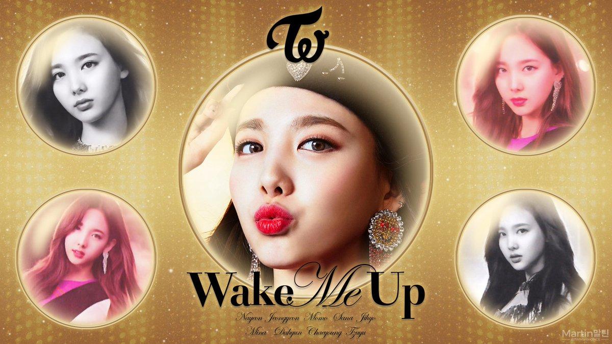 Twice Wake Me Up Wallpaper