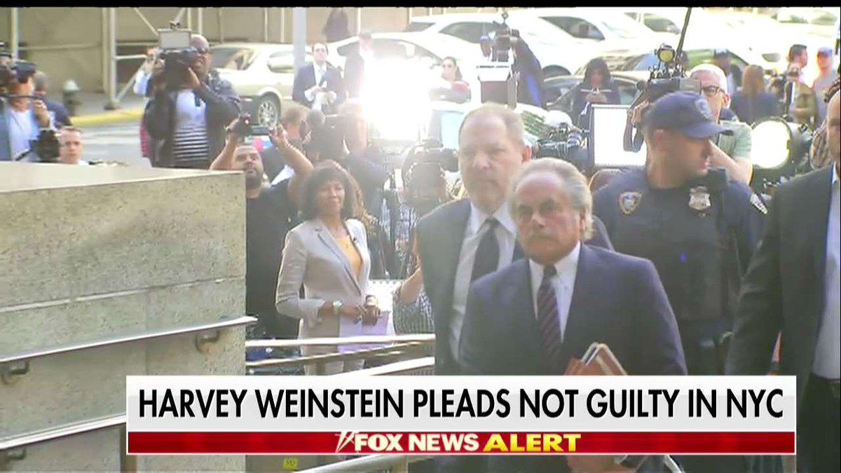 320cb914549e Harvey Weinstein pleads not guilty in NYC https   t.co vzEjobl4u7
