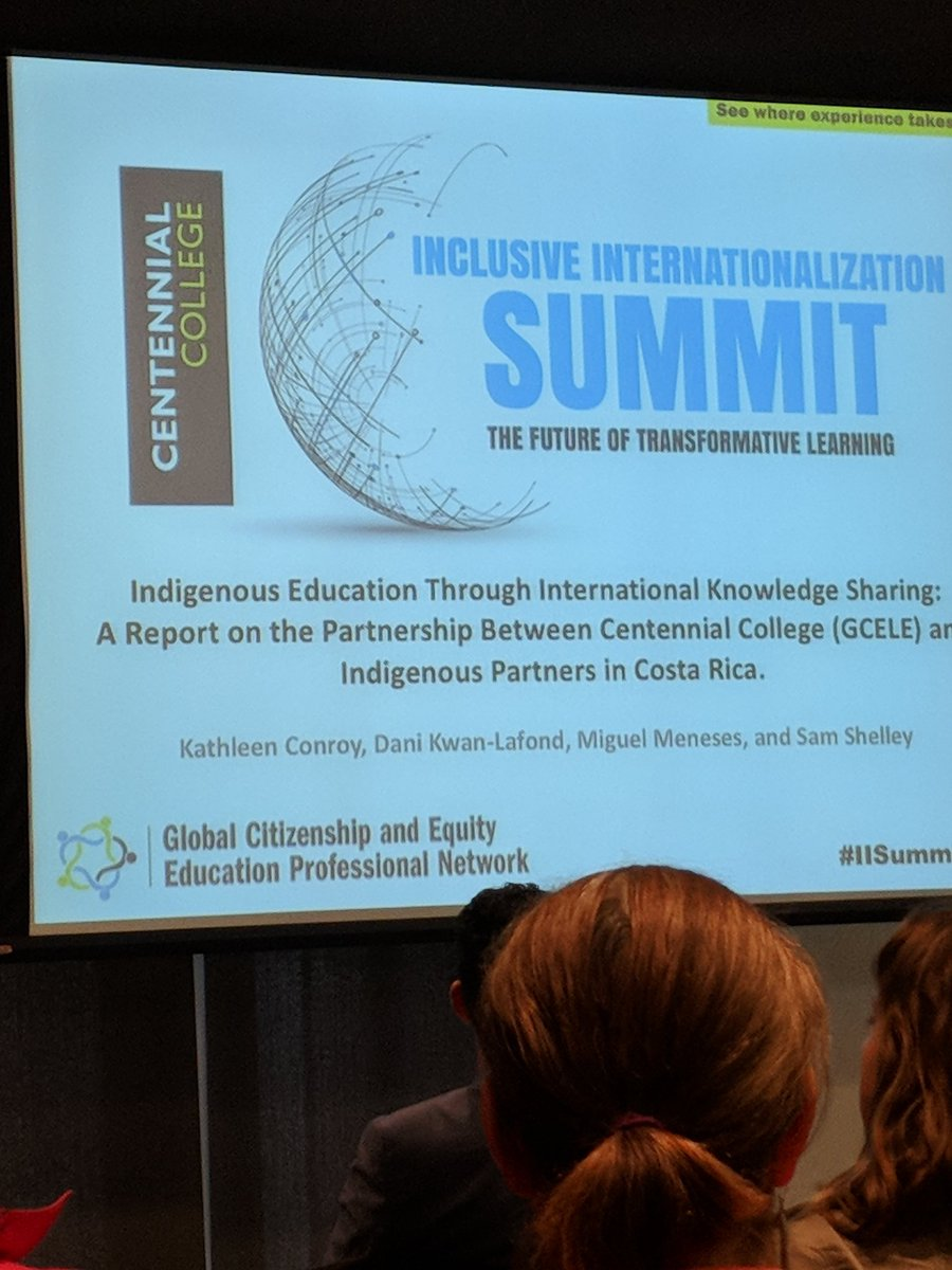 Excited to learn about Indigenous Education through International Knowledge Sharing! #IISummit2018