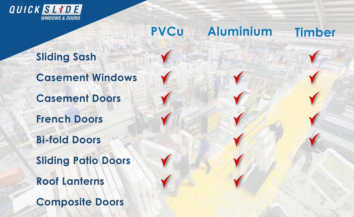 Here is an overview of our full product range across all materials. Talk to a member of our friendly team for more information 0844 5610 623.  sc 1 st  Twitter & Quickslide Ltd (@QuickslideLtd) | Twitter