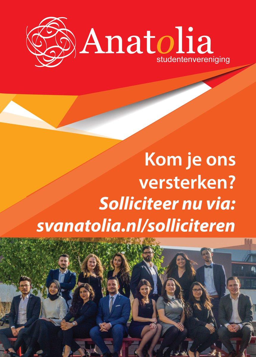 motivatiebrief studentenvereniging SV Anatolia on Twitter: