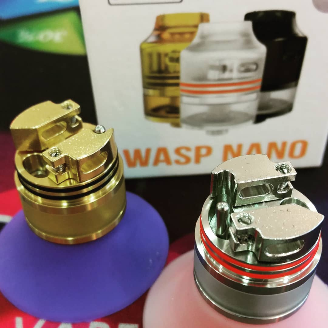 Oumier Twitter Search Authentic Wasp Nano Rda 22mm By A Unique Adjustable Airflow System With Bottom Filling Design Exchangeable Squonk Pin Waspnano Pic Iyujos28cw