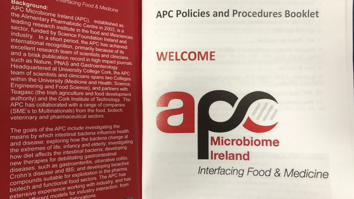 APC Microbiome Ireland On Twitter And Were Delighted To Welcome You CiaraFudgyJudgy Looking Forward A Great Summer Ahead ClaessonLab