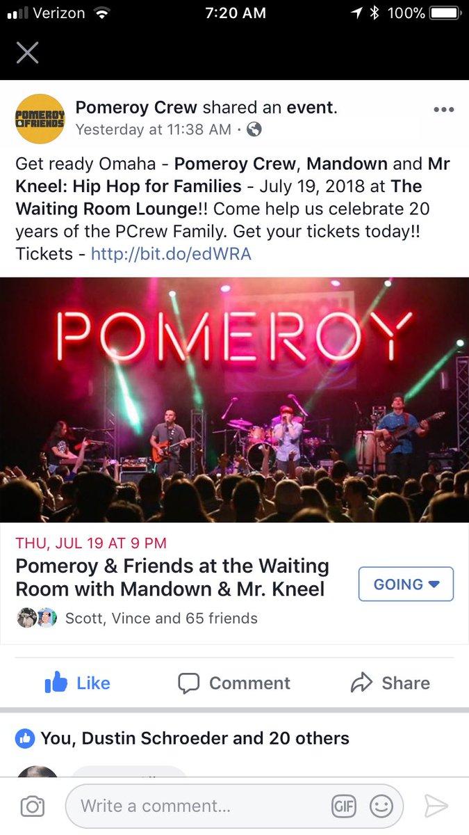 pomeroy hashtag on Twitter