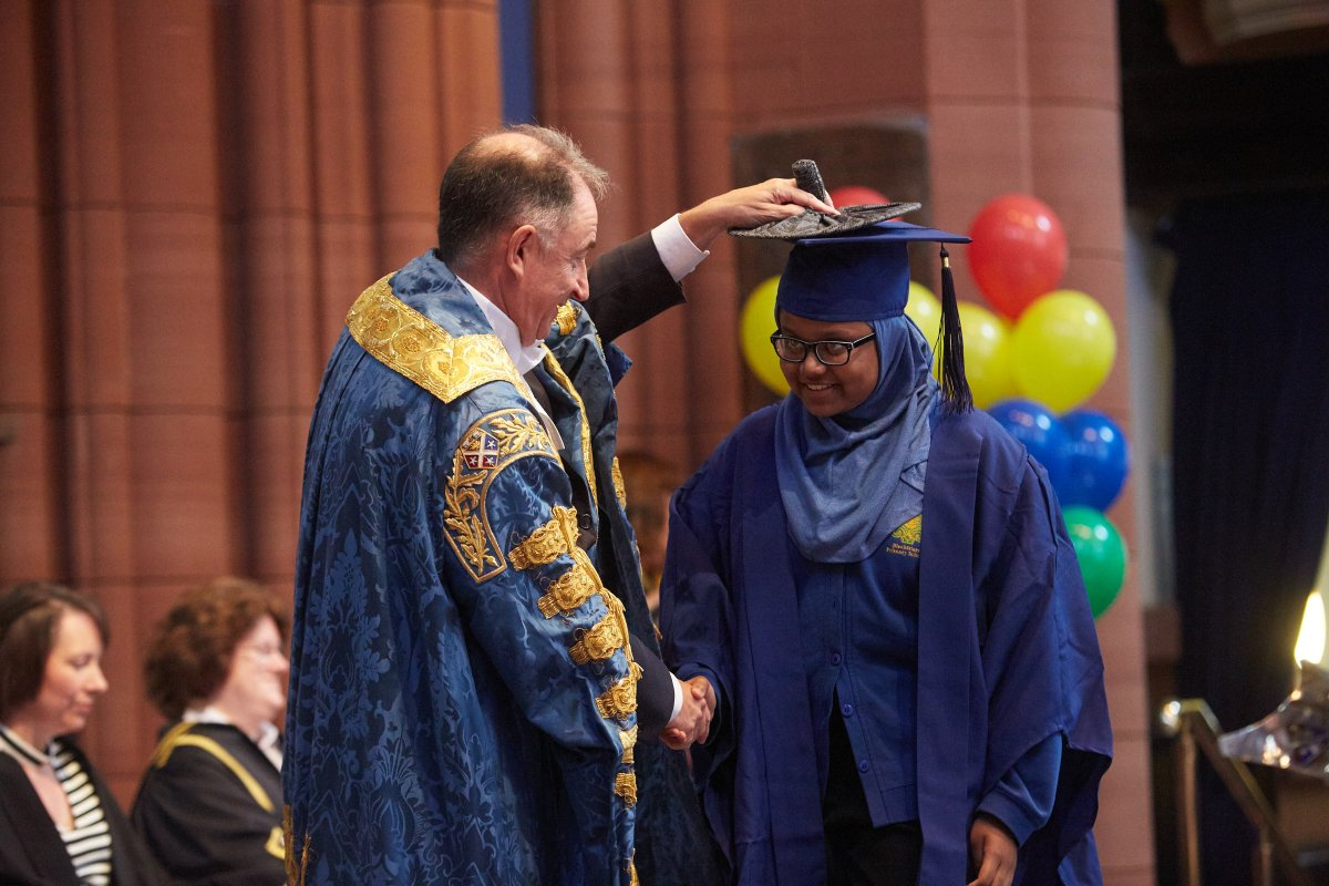 Congratulations to all 203 of our 2018 Children's University graduates! Keep on learning! #RaisingAspirations #WeAreStrathclyde