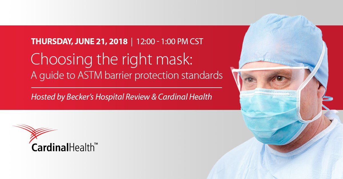 cardinal health surgical mask