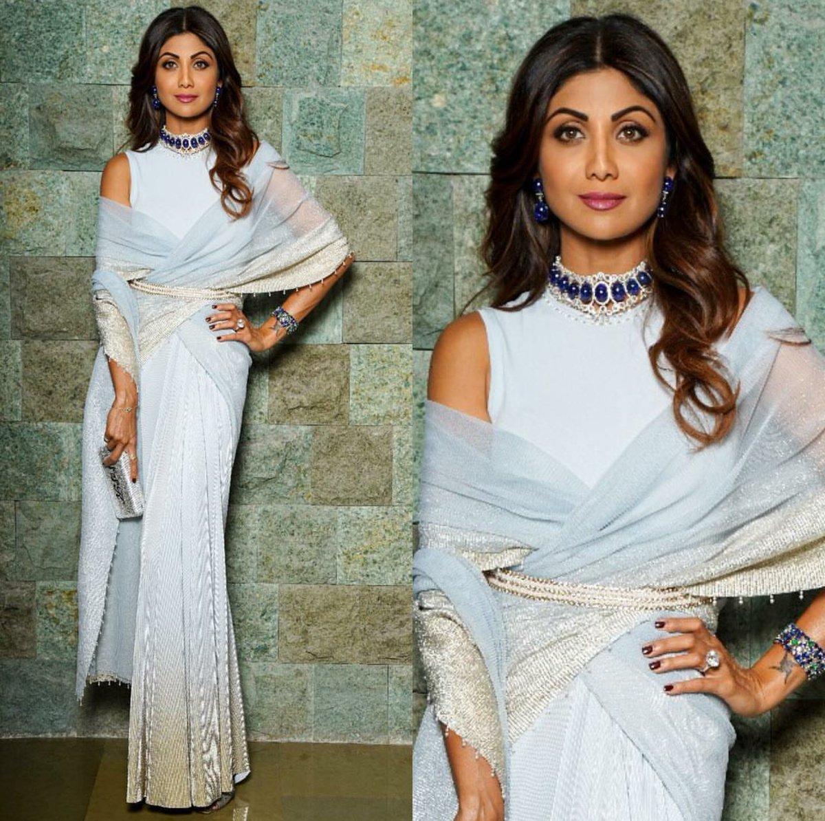 Saree Com On Twitter We Re In Awe Of Shilpa Shetty S Offbeat Saree Collection The Diva Was Once Again Spotted In An Irresistibly Stylish Drape Shilpashetty Celebrity Fashion Shilpashettykundra Saree Https T Co Yp8jasxkyx
