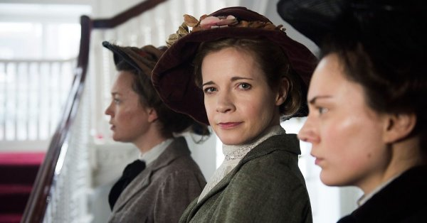 Suffragettes, le docu-drama de la BBC avec Lucy Worsley De7ihatWkAA1Cen