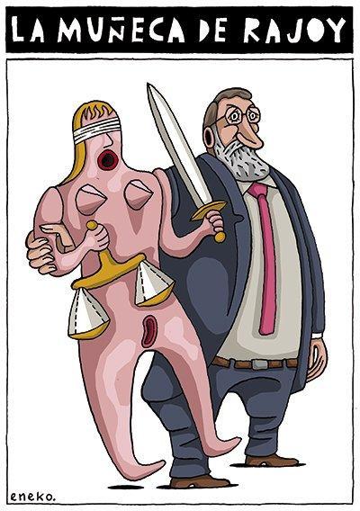 Rajoy podrá dedicarse de lleno a sus aficiones. De hace un tiempo en @eljueves #FuturoRajoyARV