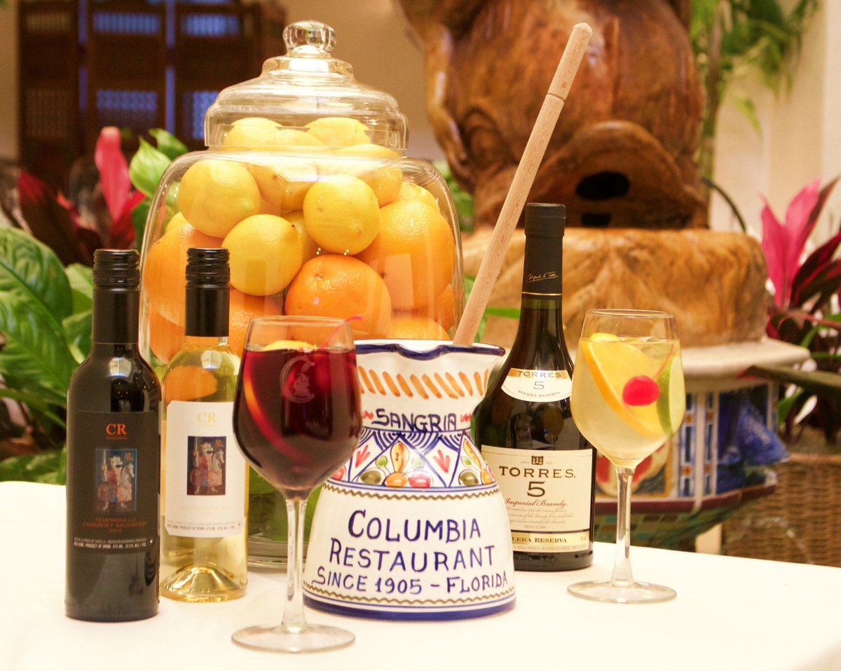 Columbia restaurant sangria recipe