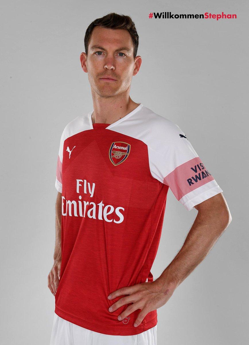 Maillot Extérieur Arsenal Stephan Lichtsteiner