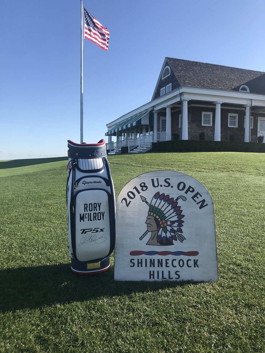 Excited for Shinnecock Hills and @usopengolf! An outstanding course which will be a great championship test! Like my #USOpen custom-made @TaylorMadeGolf bag? RT for a chance to win it.