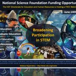Want to learn more about #NSF funding opportunities? Join NSF Webinar on June 14. Register here: https://t.co/vM9SxuffLU