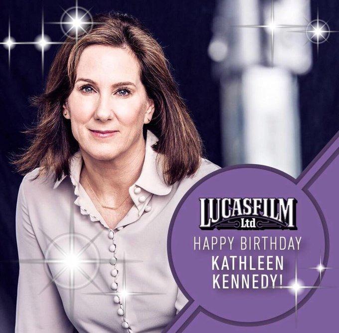 Happy Birthday Kathleen Kennedy