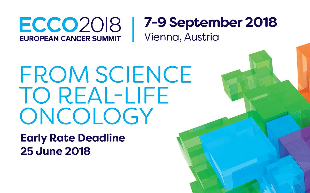 acb10a776c48  Eccosummit ECCO 2018 European Cancer Summit brings worldwide leaders from  cancer healthcare