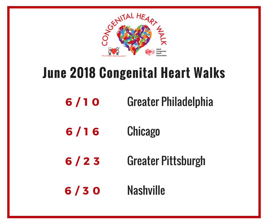 congenital heart walk