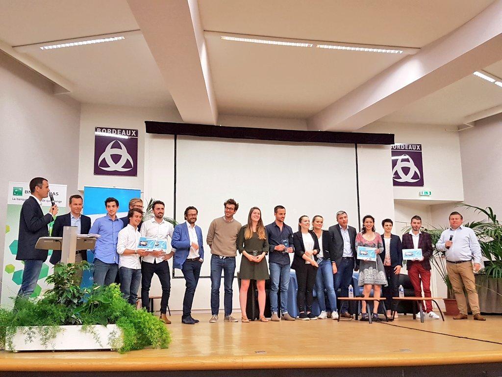 🏆 @Rhinov_ remporte le Bordeaux Pitch Contest 2018 👏 Bravo à tout(e)s les participant(e)s et à l'année prochaine #BxPitch https://t.co/4pGxNnOLH2