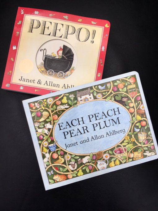 These two classics in the shop today - happy birthday Allan Ahlberg!