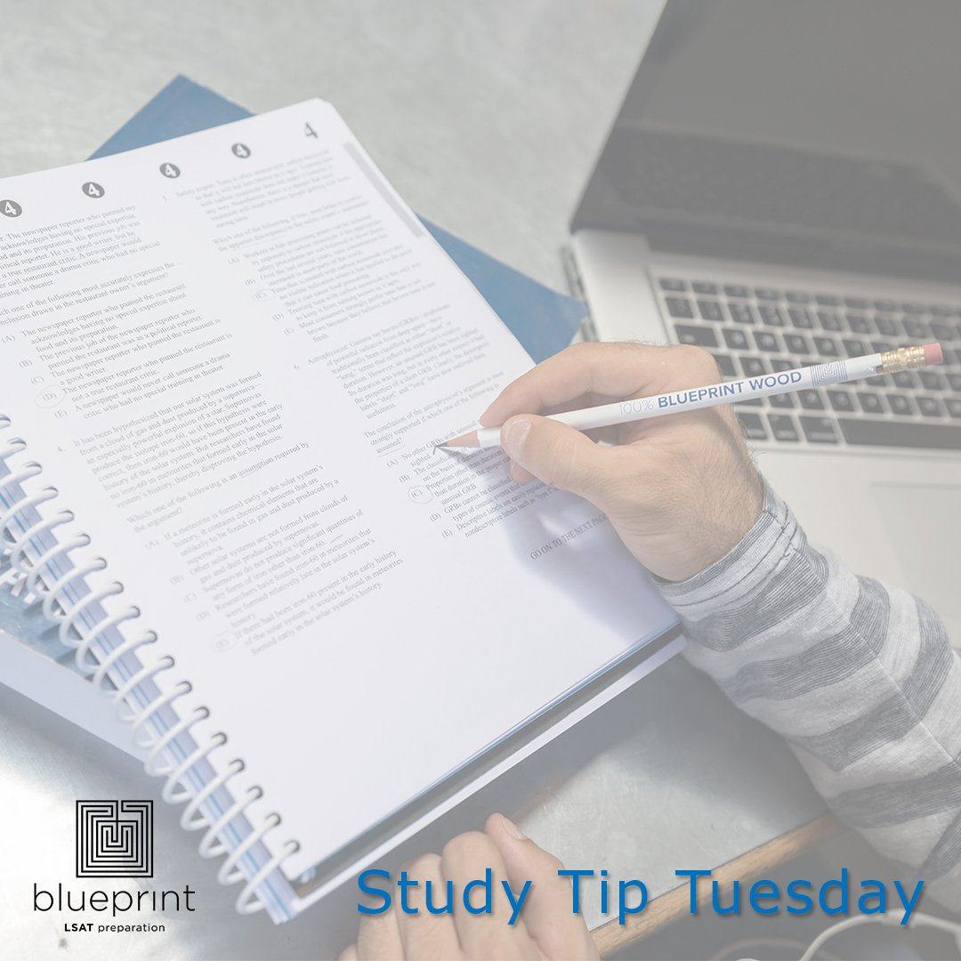 Blueprint lsat prep blueprintlsat twitter its studytiptuesday familiarize yourself with the material before the lesson pay attention and take notes during the lesson review the materials and malvernweather Image collections