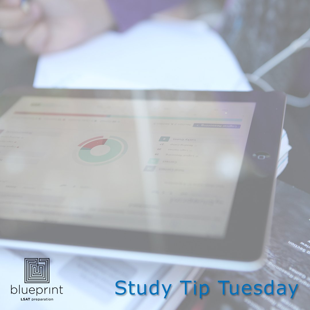 Blueprint lsat prep blueprintlsat twitter keep track of your trouble areas as youre studying or taking practice exams youll know what you need to spend more time on and can dedicate longer study malvernweather Images