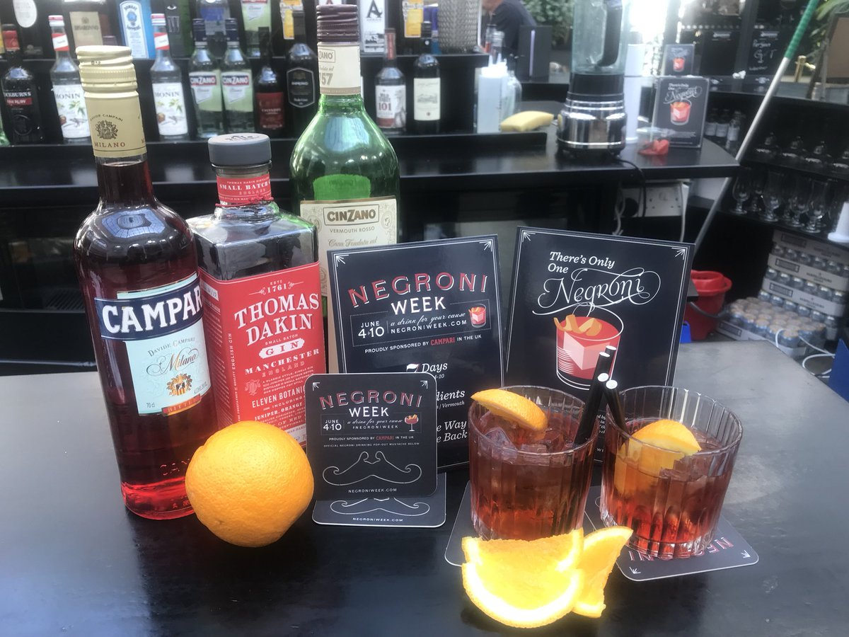 Salvis Mcr On Twitter It S Negroni Week We Re Working