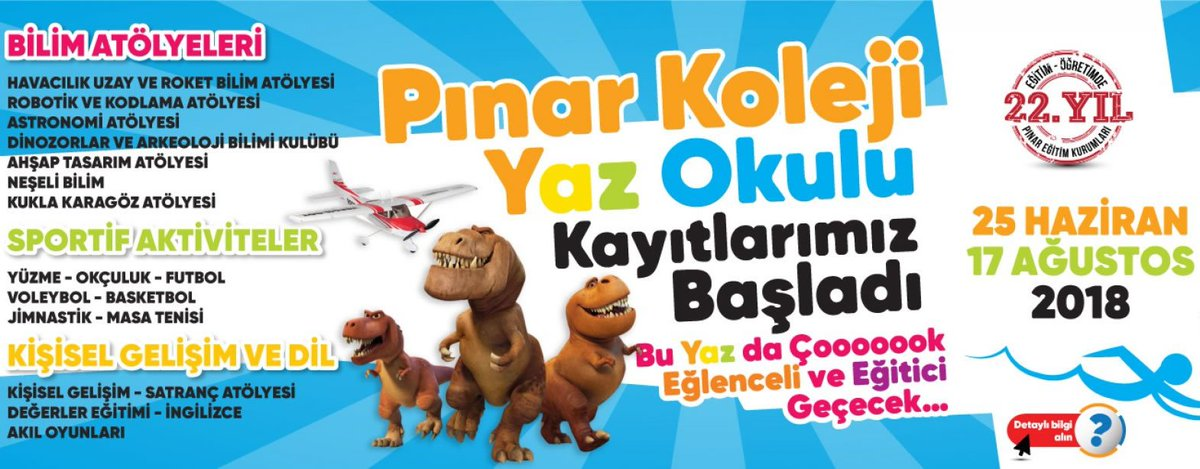 Pınar Koleji Yaz Okulu 2018 - Ankara