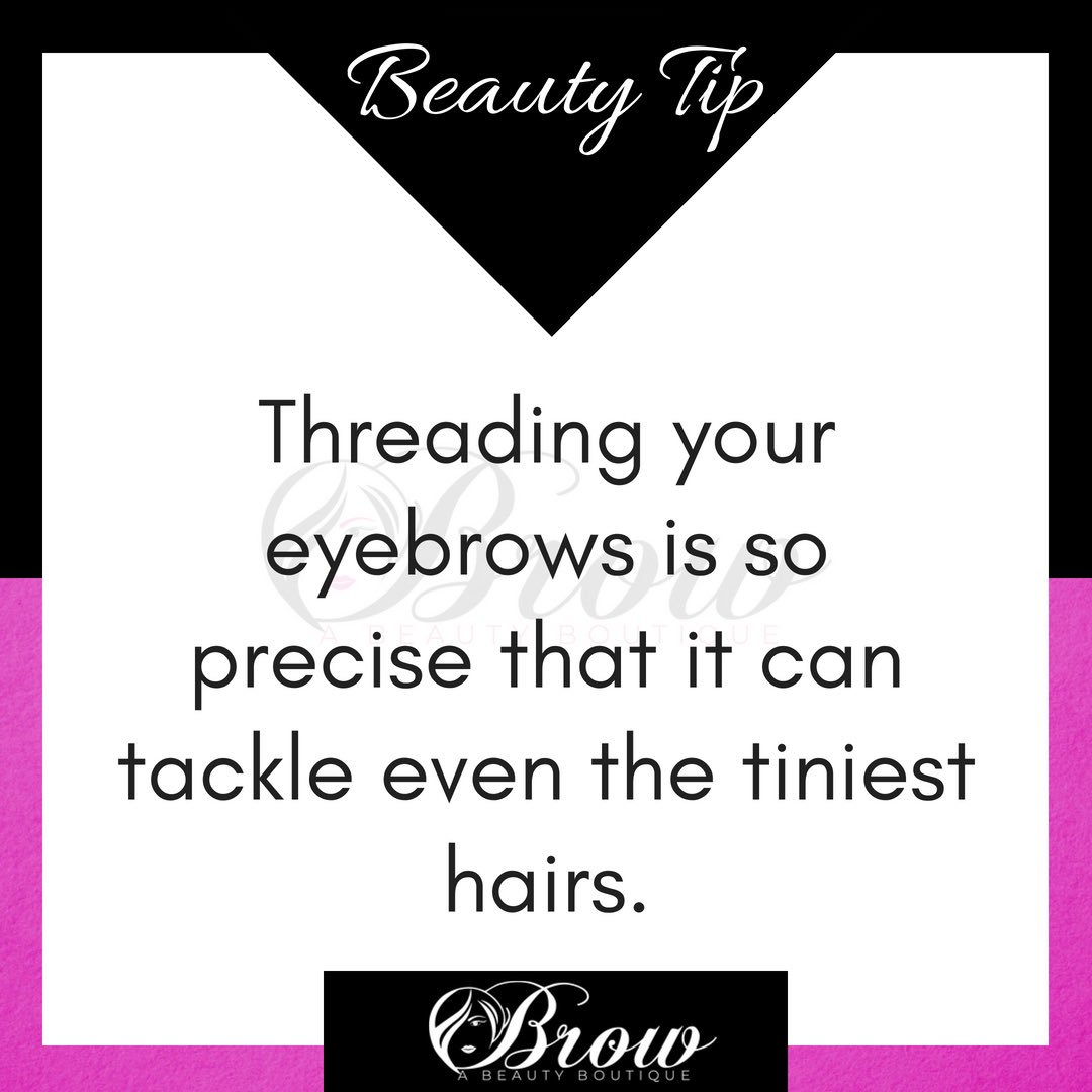 Brow A Beauty Boutique on Twitter: