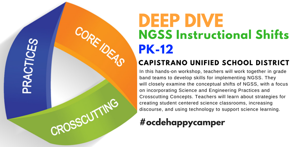 Ocde Stem On Twitter Are You Ready To Dive Deeper Into The Ngss