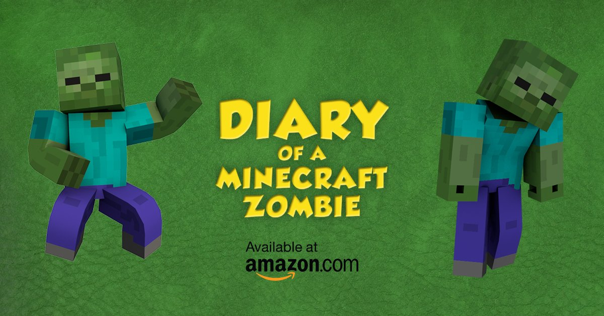 Zack Zombie On Twitter Diary Of A Minecraft Zombie Book 1