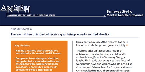 Ansirh On Twitter Our Issue Brief The Mental Health Impact Of