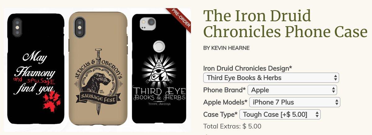 The Iron Druid Chronicles Sausage /& Harmony T-Shirt
