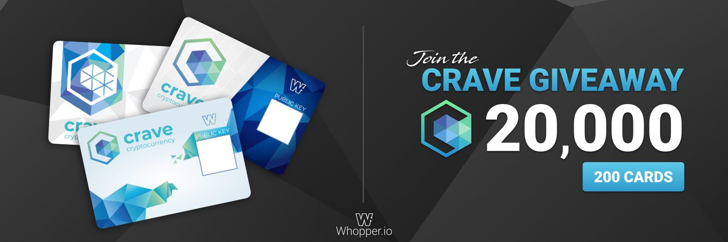 Whopper Crave Integration and Giveaway