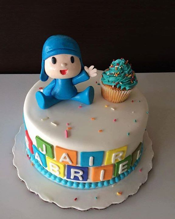 Pleasant Cocolimon On Twitter Pocoyo Cake Cocolimon Birthdaycake Funny Birthday Cards Online Elaedamsfinfo