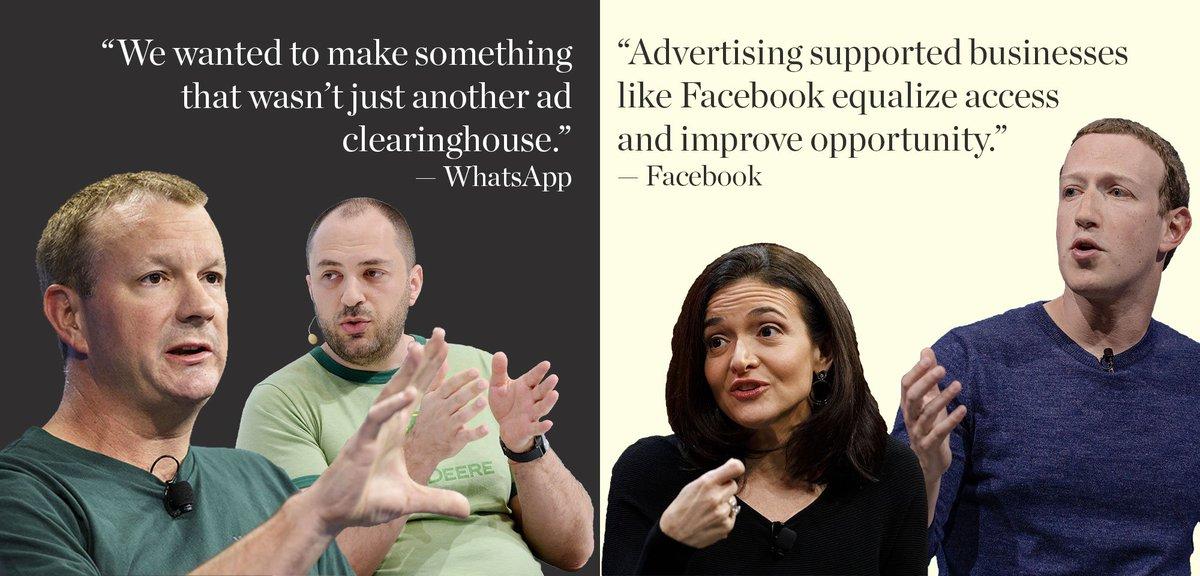 Hasil gambar untuk Behind the Messy, Expensive Split Between Facebook and WhatsApp Founders